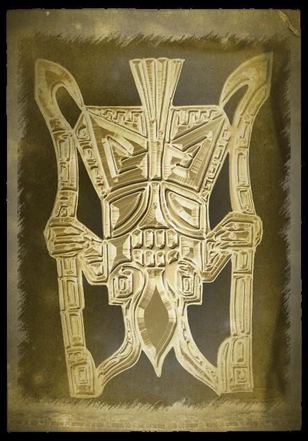Concept art for the Tiwanaku pendant
