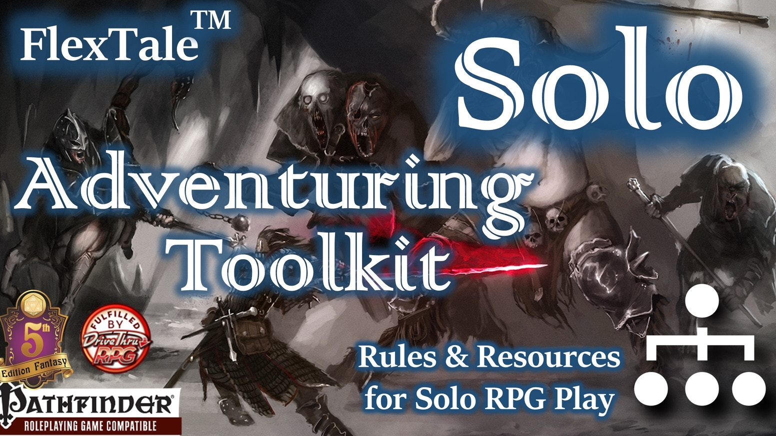 FlexTale Solo Adventuring Toolkit (Pathfinder/5E, Unisystem) by J