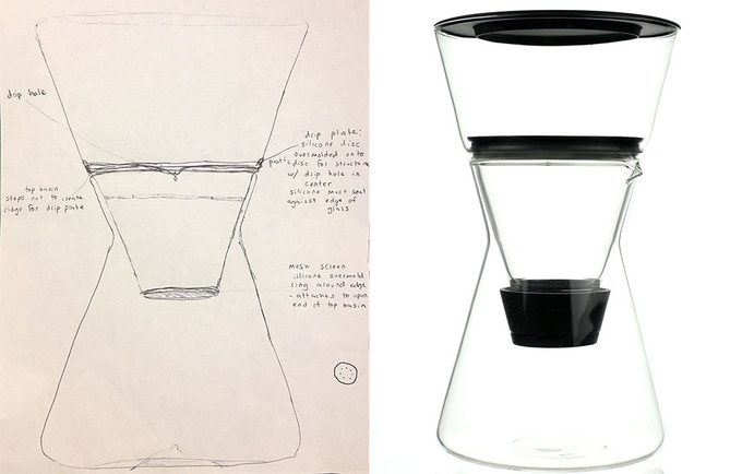 From first sketch to final prototype.