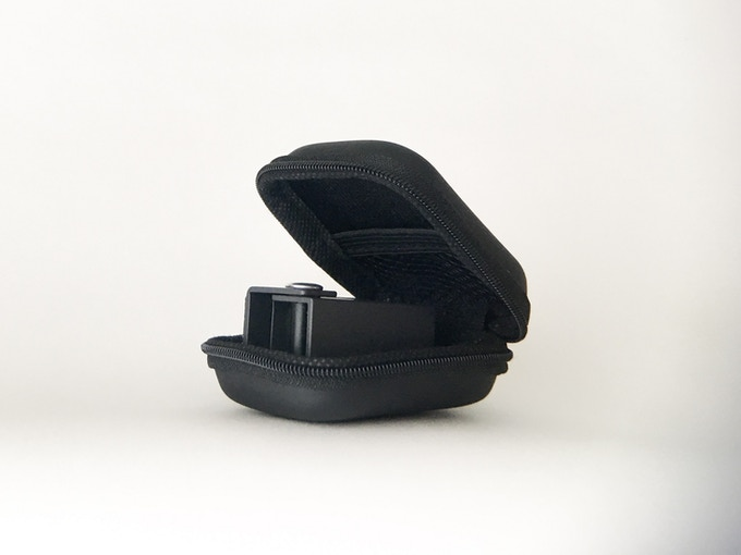 Clamshell case for storage