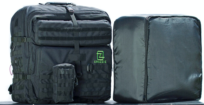 GTR-1 Backpack with softshell packing cube