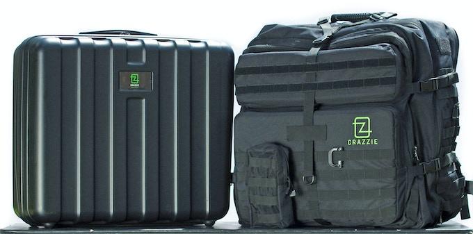 GTR-1 Backpack with hardshell