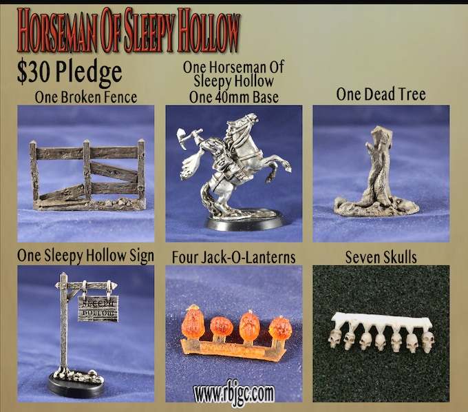 $30 HORSEMAN OF SLEEPY HOLLOW PLEDGE