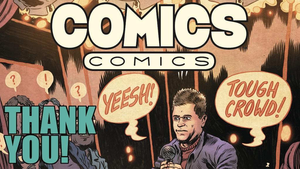 Starburns Presents Comics Comics #1 by Patton Oswalt & pals! project video thumbnail