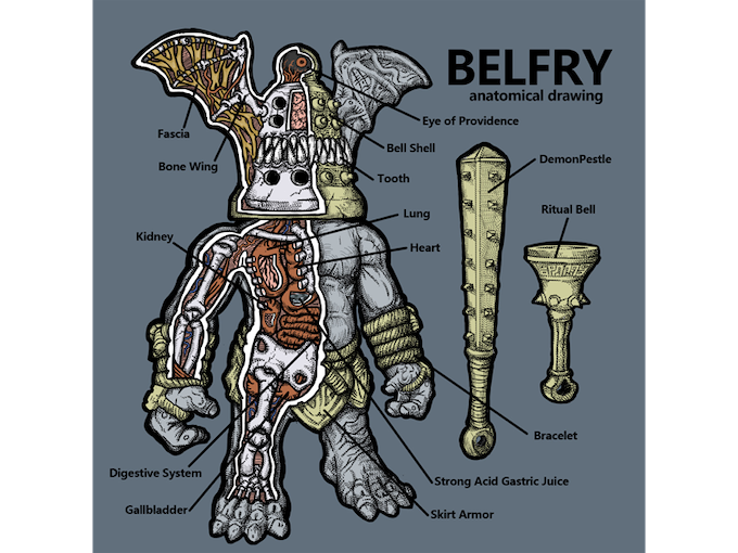 Crybag's Belfry anatomy illustration (click for instagram link)