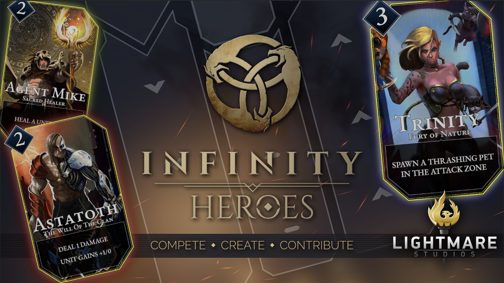 Infinity Heroes project video thumbnail