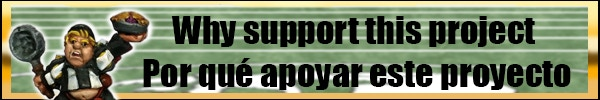 Why support us