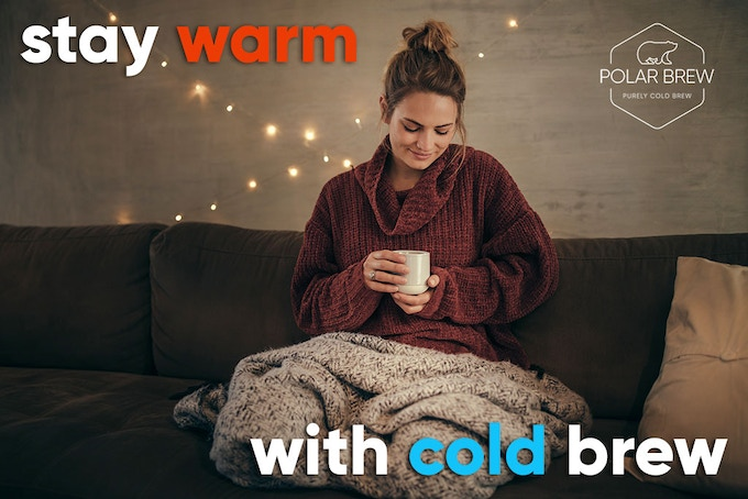 That's right, cold brew can be served hot! Just mix equal parts hot water and immersion brew concentrate, and presto: you'll have a flavorful hot coffee with 60% less acid than its hot brewed cousin.