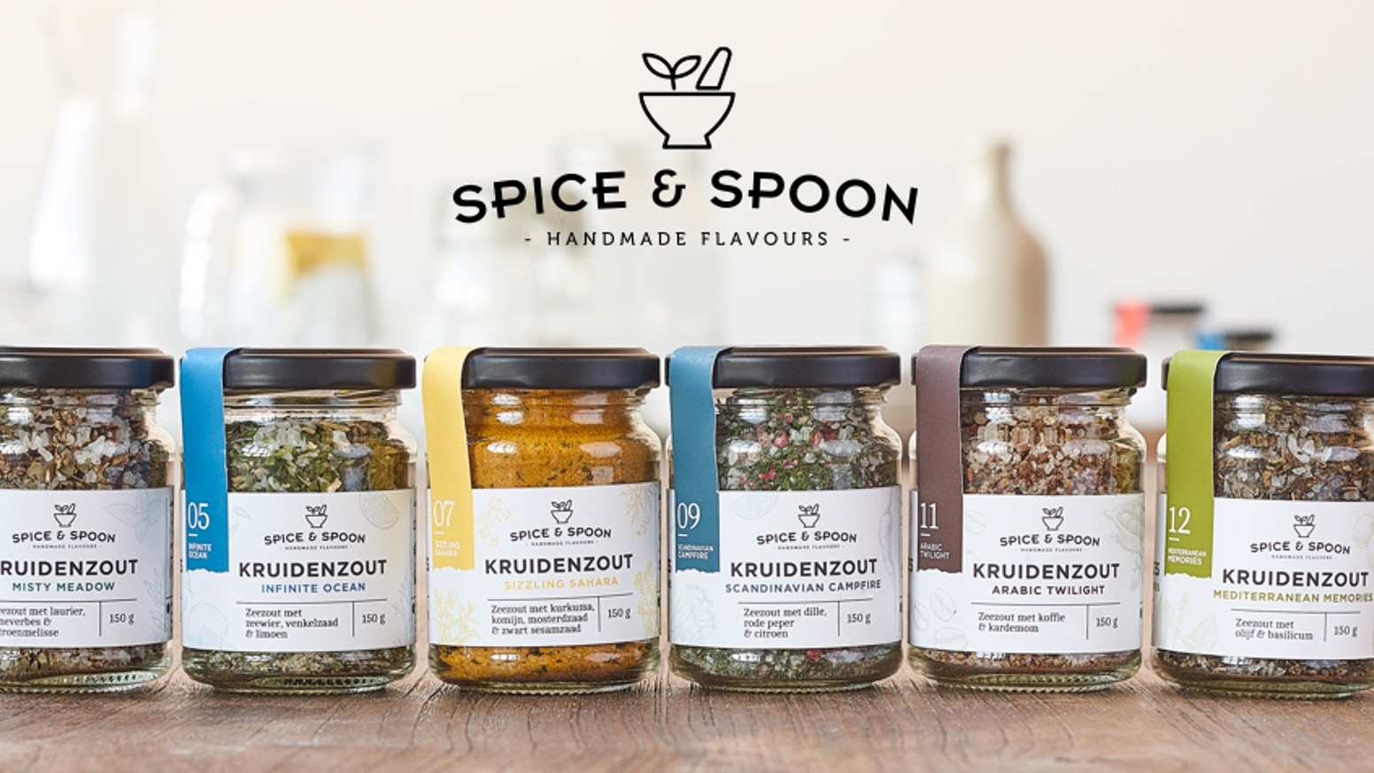 Enjoy your favourite everyday dishes, brightened up with the unique flavoured salts and sugars from Spice & Spoon!