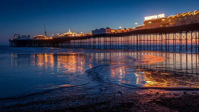 Location: The Palace Pier