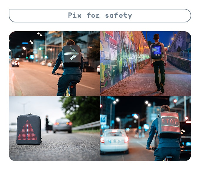 Pix: The Backpack for those who dare to be different by PIX Backpack