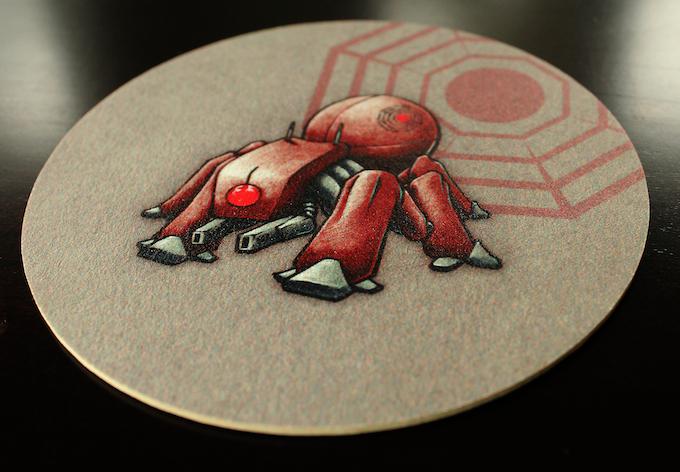 Coaster with Supreme Leader Concept Art