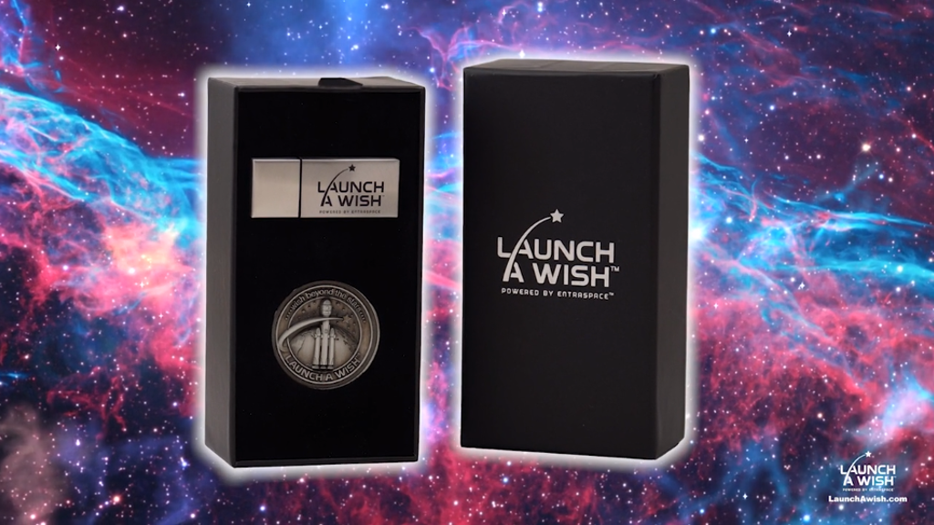 Launch A Wish: Outer Space Wish Capsules