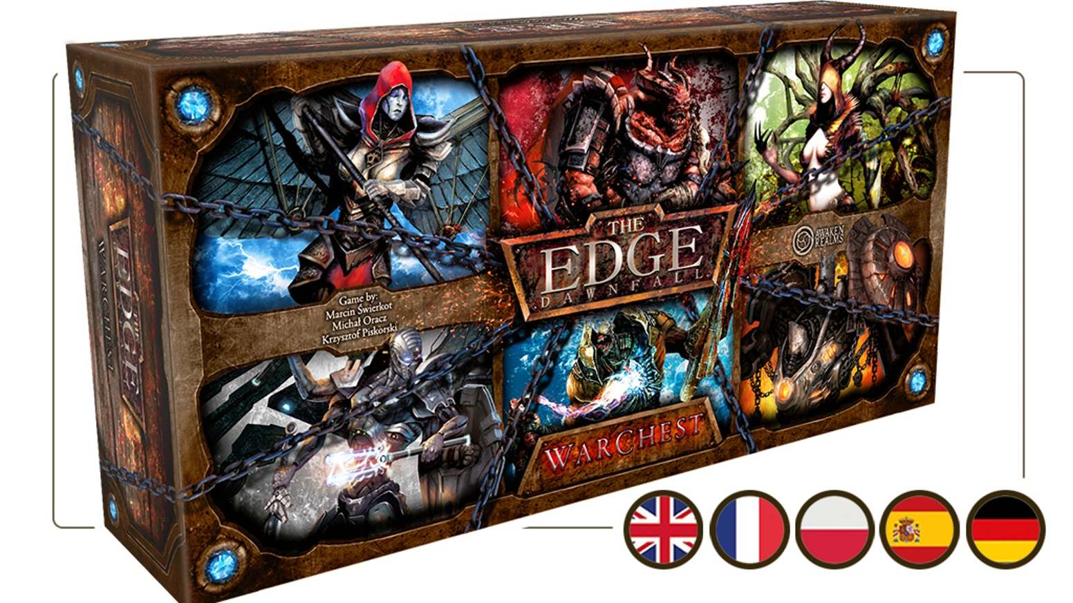 New miniature Board Game by Awaken Realms for 1-4 players, created by Michał Oracz.