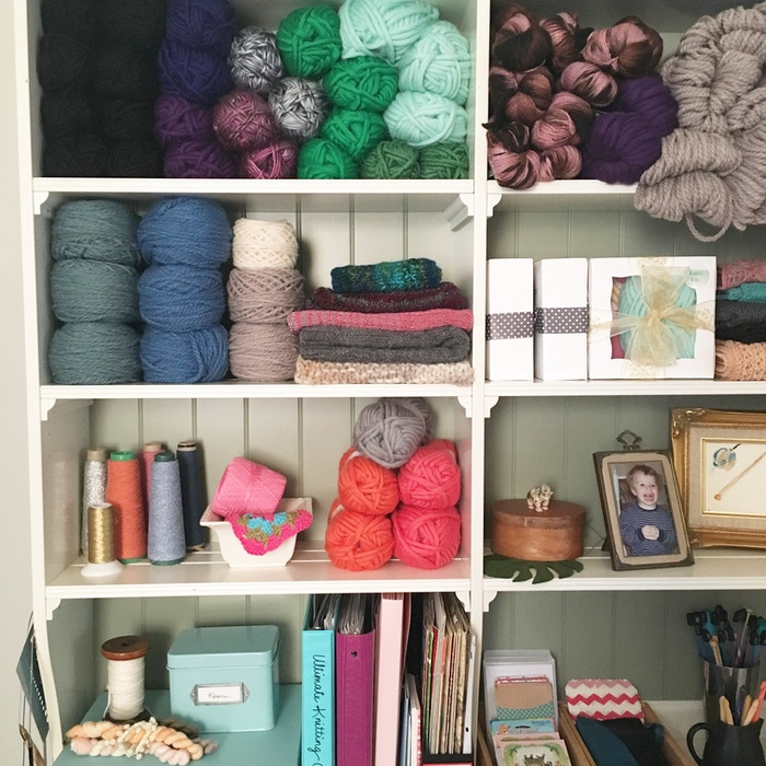 A printable, paper-based system to organize your yarn, patterns, projects, and creative journey