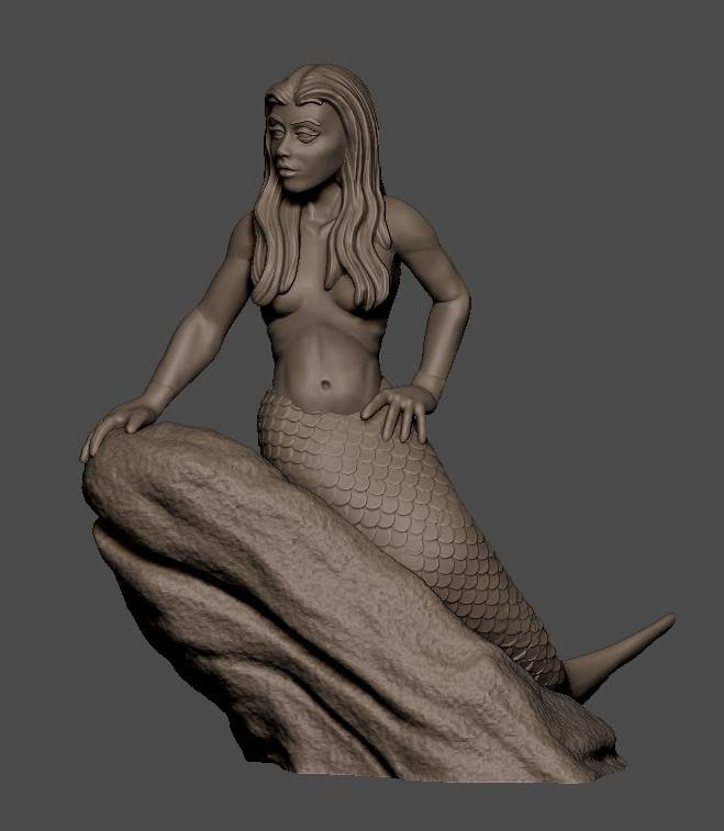 Ooh, a mermaid...