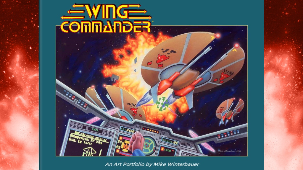 Wing Commander Art Portfolio project video thumbnail