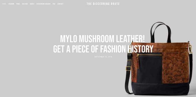 Check out a sneak-peek review of The Mylo Driver Bag at The Discerning Brute