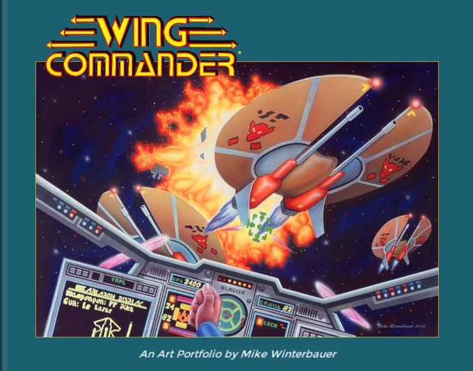 Wing Commander Art Portfolio