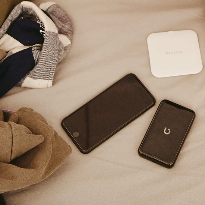Our wireless desktop charging pad (top right) is the perfect companion for your smartphone and Prelude power bank.
