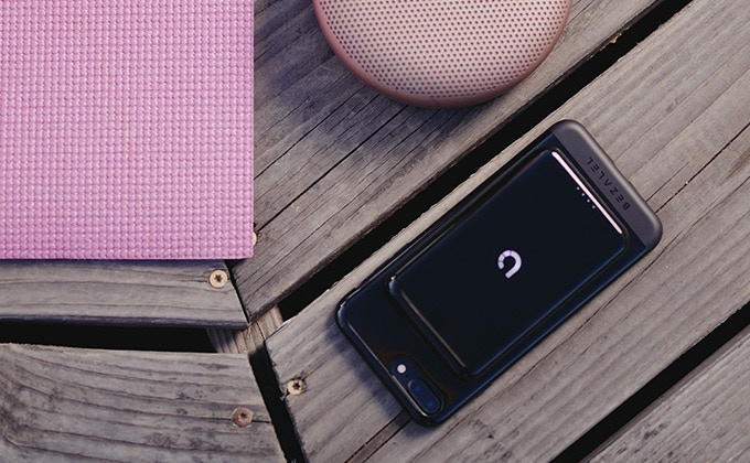 Prelude keeps your battery charged wire-free while streaming music by bluetooth.