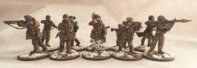 10 Man Chechen Squad from our 1st Kickstarter