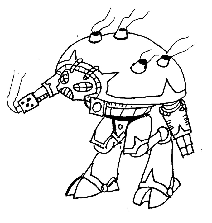Hornet outrider concept sketch
