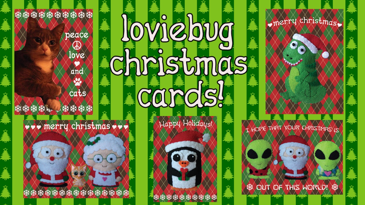 Christmas cards by loviebug designs by erin kohut kickstarter christmas cards by loviebug designs m4hsunfo
