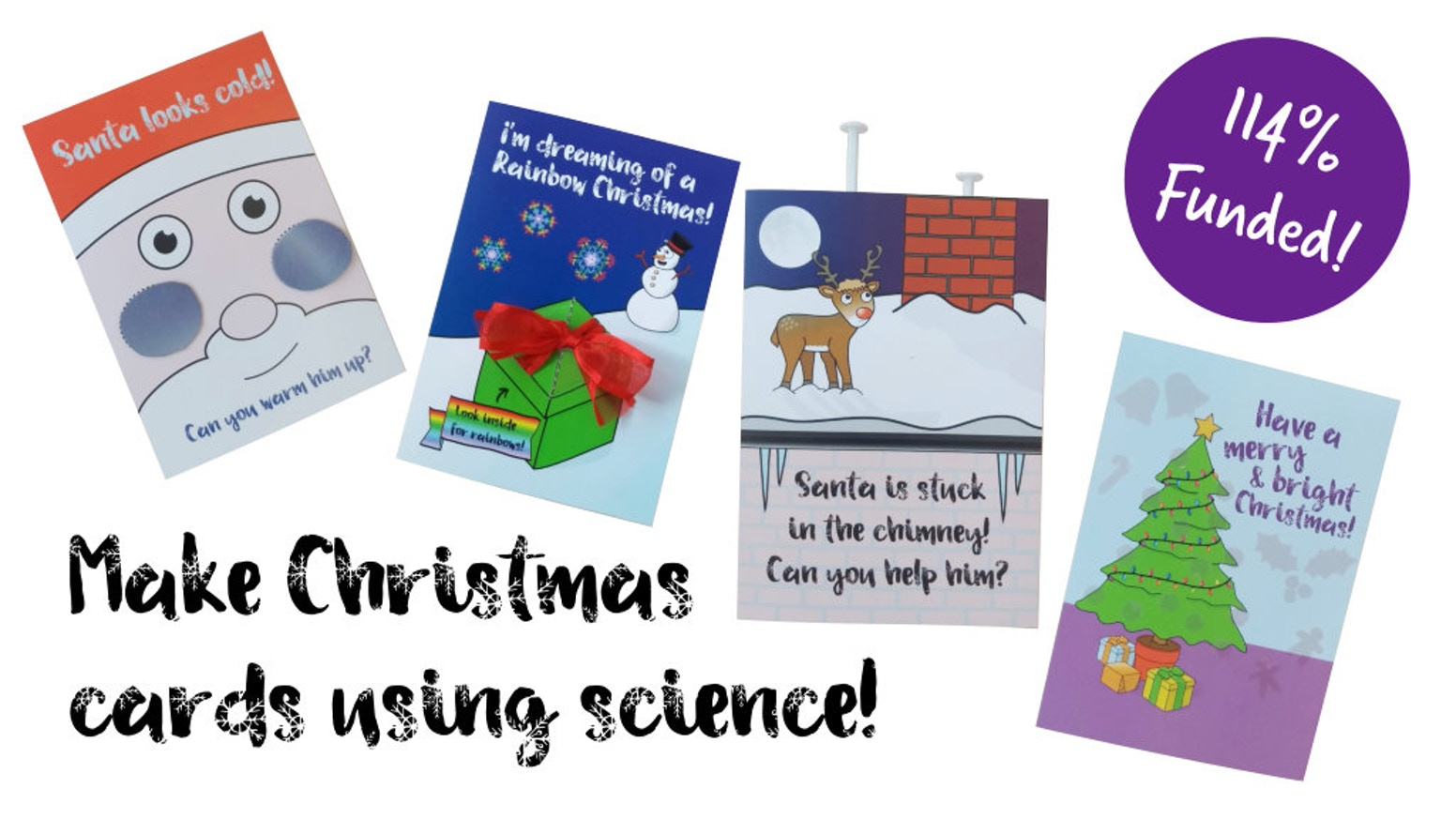 Stem Into Christmas With A Kids Scientific Card Making Kit By
