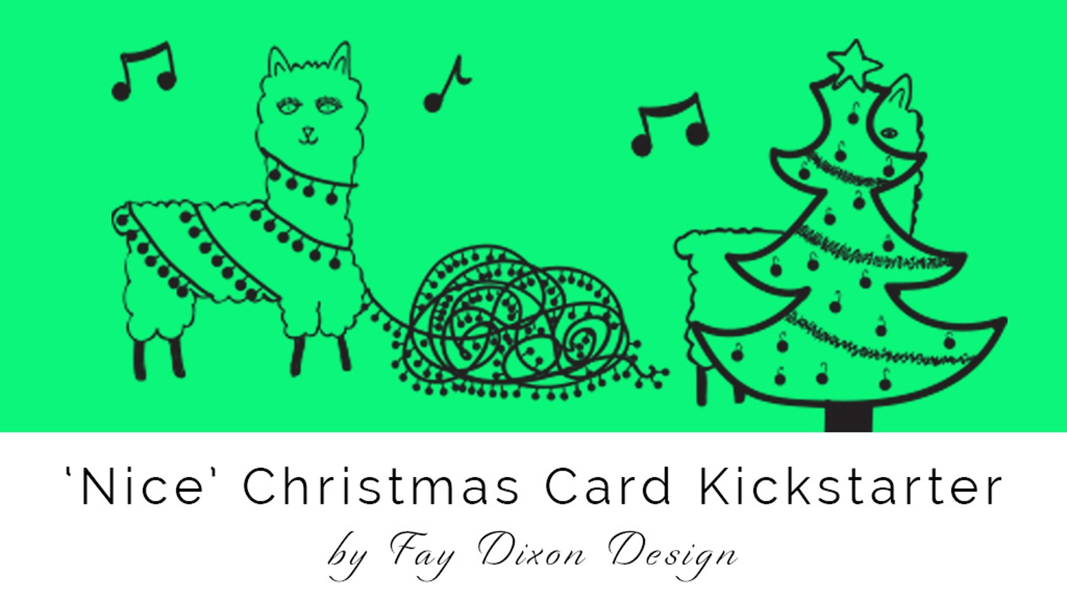 Nice\' Colourful Christmas Cards by Fay Dixon — Kickstarter