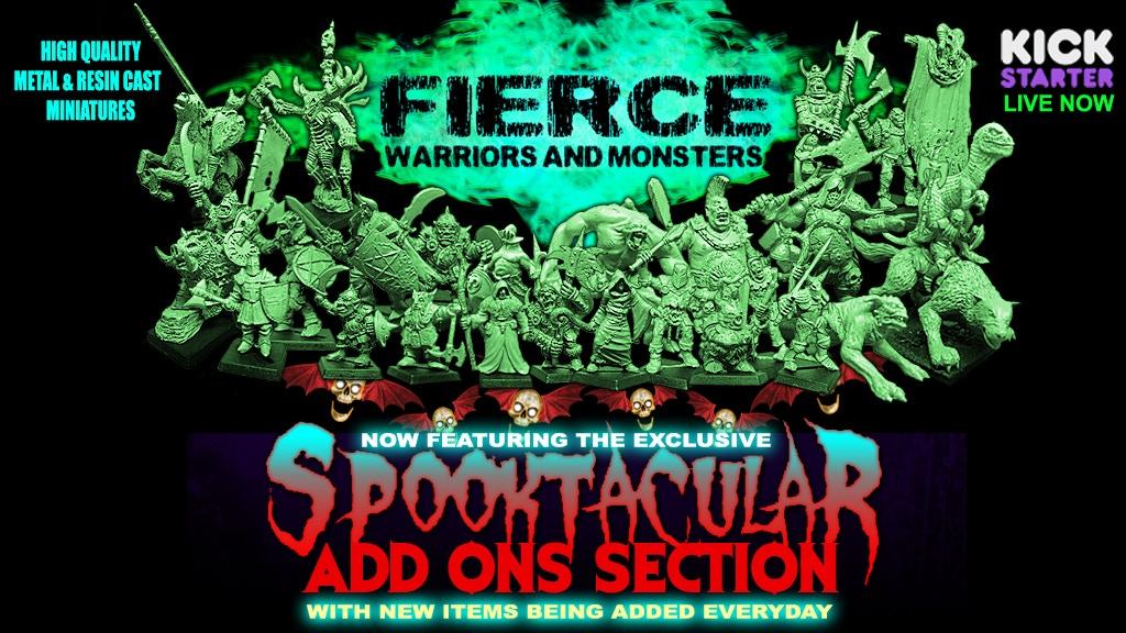 Dark-Art-Studios - Fierce: Warriors & Monsters project video thumbnail