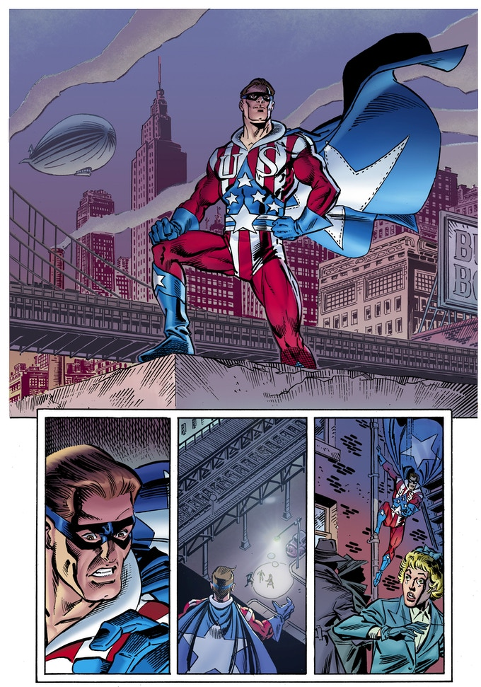 Preview Page - Ron Frenz/Joe Rubinstein (Chris Ivy Colors)