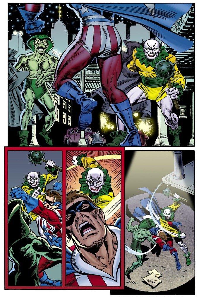 Preview Page #2 - Ron Frenz/Joe Rubinstein (Chris Ivy - Colors)
