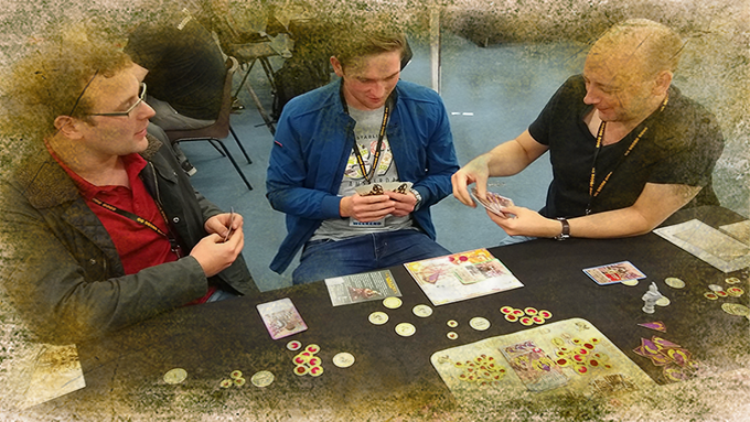 A 3 player challenge at Tabletop Scotland 2018