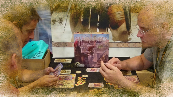 A 2 player grudge re-match at UKGE 2018