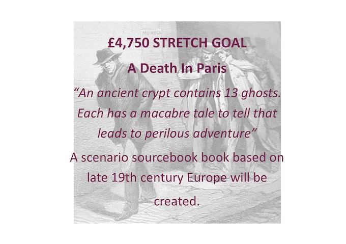 £4750 Stretch Goal
