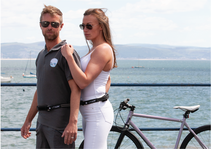 Clip-on Universal Wearable kit is designed to fit the majority of riders