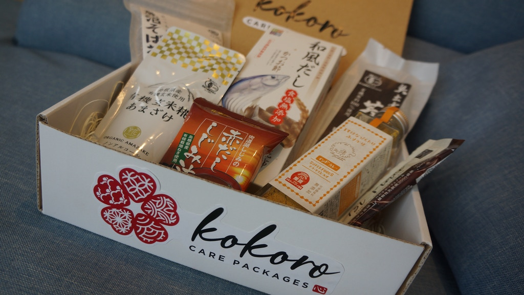 Kokoro Care Packages: Delivering Healthy Japanese Foods project video thumbnail