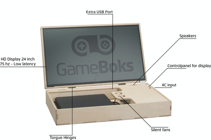 GameBoks specs