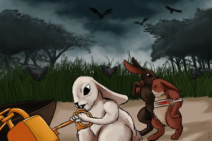Clever will get you far in Bunnies & Burrows but wit is not always enough for these adventures.
