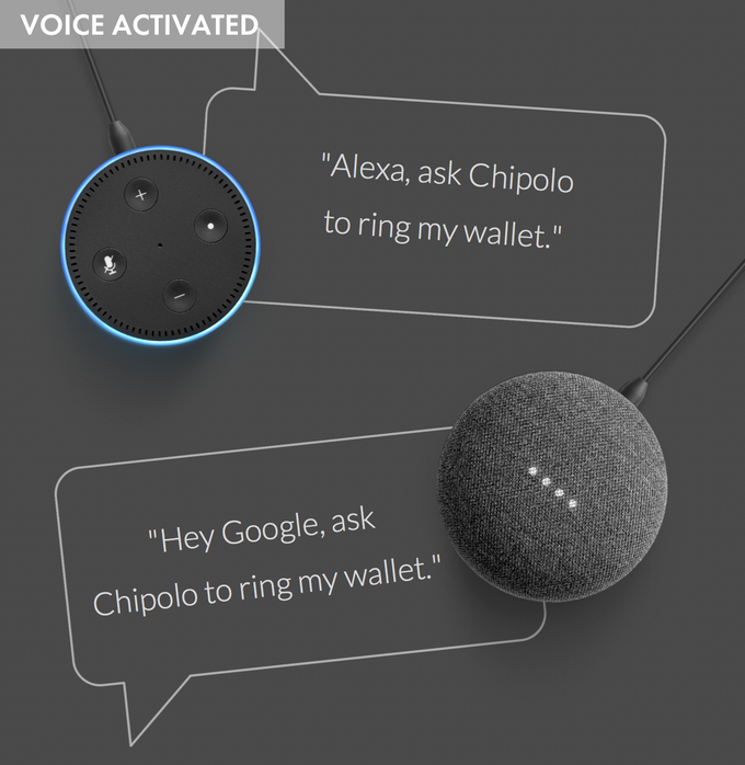 We're now compatible with Google Assistant and Amazon Alexa. Use either a smart speaker or your smartphone to locate your wallet completely hands-free. Find your wallet without having to move from your cosy spot on the couch!