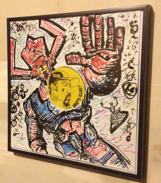 Original Vinyl Art. Galactus SAMPLE