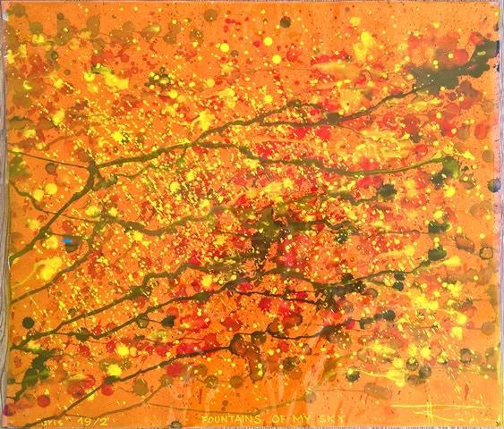 Fountains of my Sky 1972 :: Size 50x58 cm :: 260 CHF