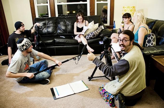 Filming the original Babysitter Massacre
