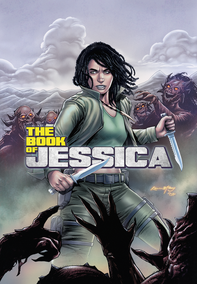 Jessica, a Relic Holder. From The Book of Jessica comic series-but you'll see her in The Book of Luka too!
