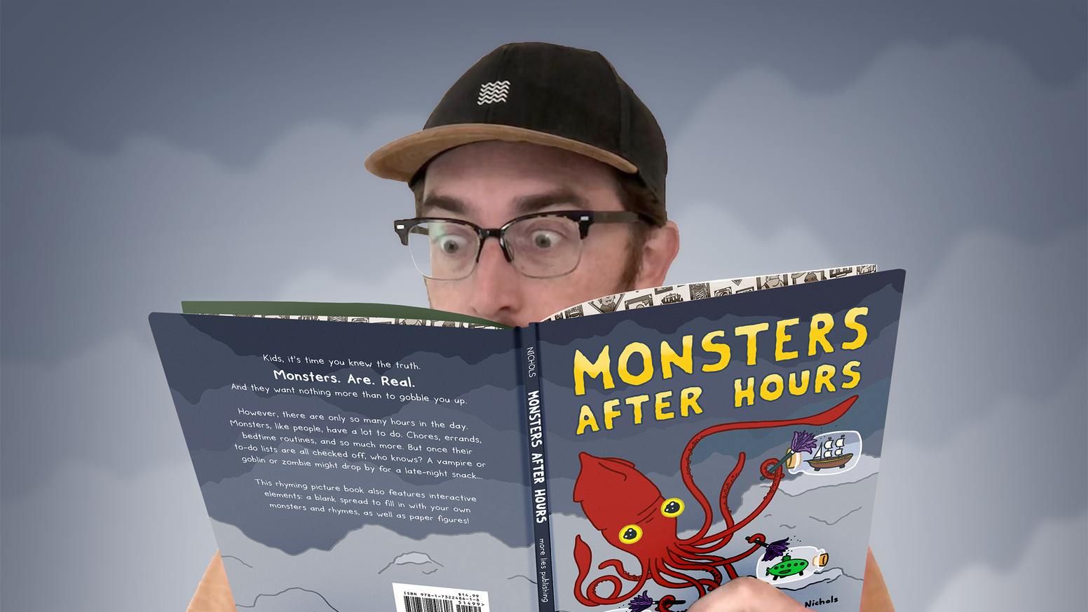 Monsters After Hours is a rhyming picture book about what monsters are doing when they're not eating kids. Available now!