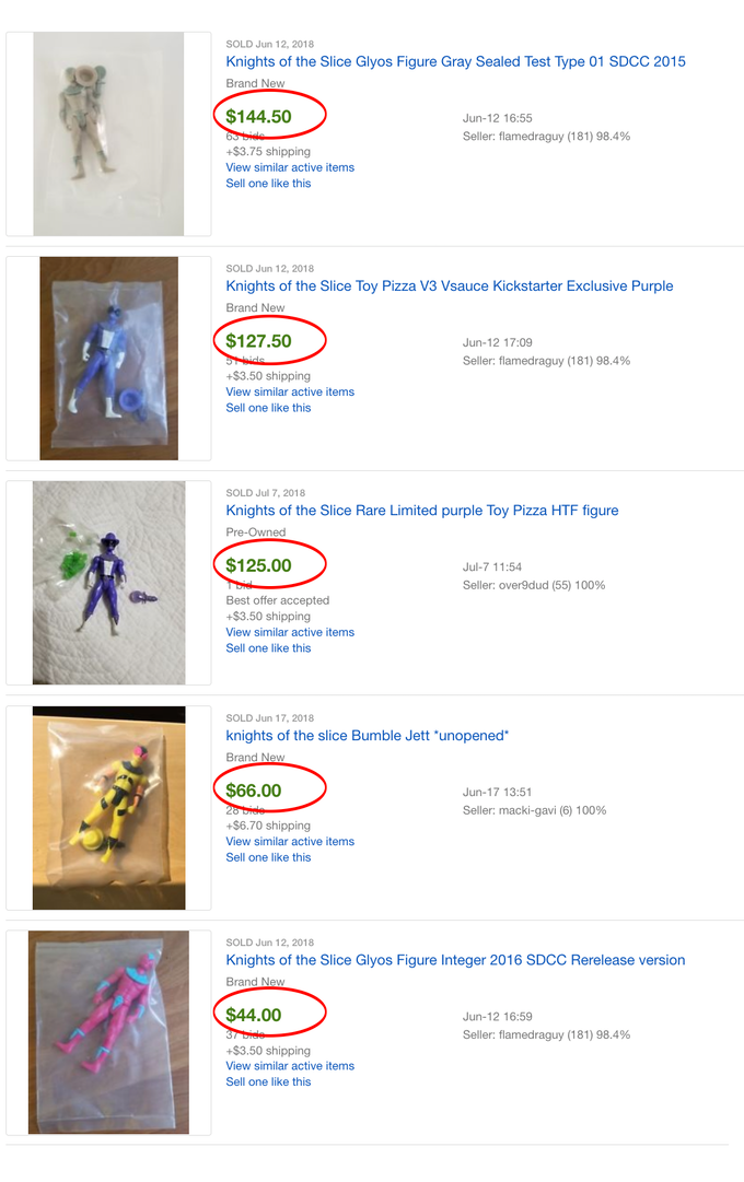 (it's worth noting the Grey and Purple Knights were from our last Kickstarter campaign)
