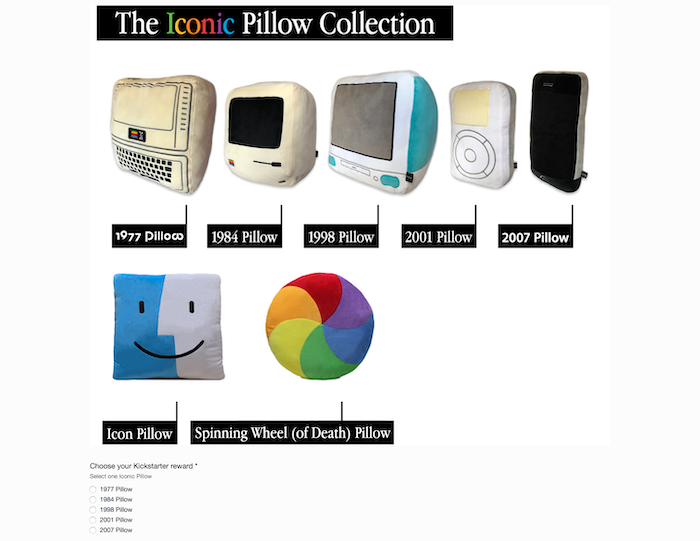 The Iconic Pillow Collection by Throwboy by Roberto Hoyos