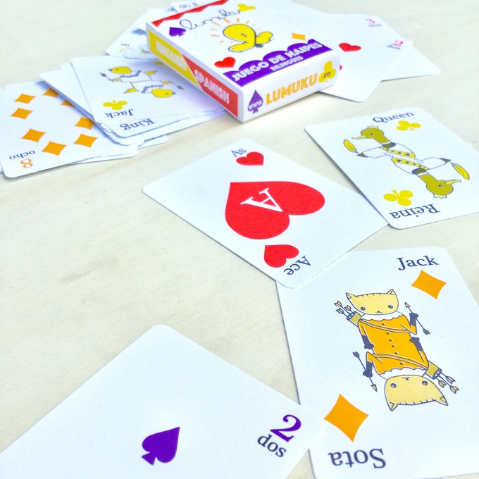 Limited edition playing cards offset printed by Jacques Bidon!