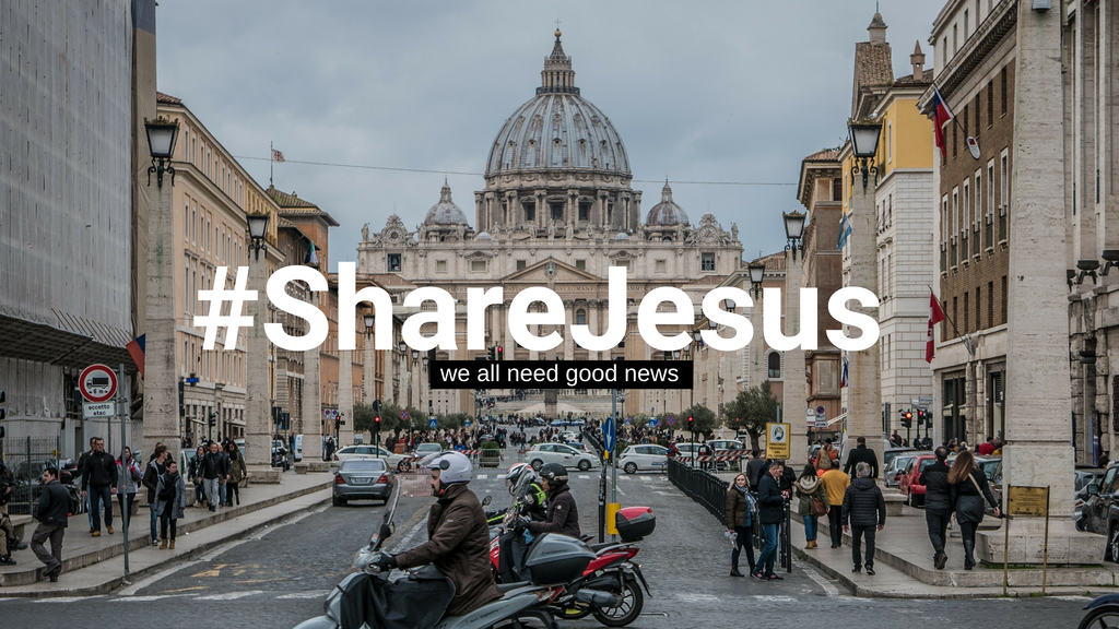 #ShareJesus: Where Social Media and the Good News Collide. project video thumbnail